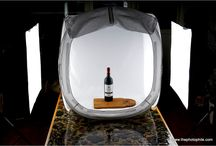 Product Photography Setup / Collection of beautifully shot product wine bottles. / by Vane
