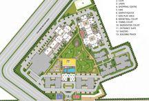 Cosmos cascade garden layout plan gurgaon
