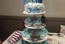 Birthday cakes & Nibbles Ideas