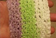 My Projects / The beginning of learning to crochet...