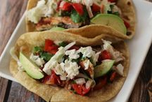 Supper / Fish tacos