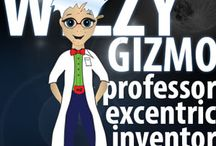 Wizzy Gizmo Characters