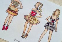 outfit drawings