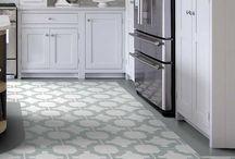 Flooring - vinyl and tiles
