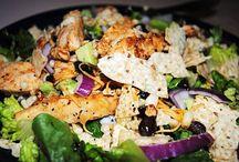 main course salads / by Carol Kerwin