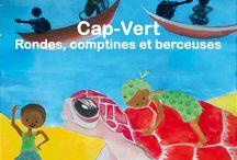 Afrique Cap-Vert / Comptines, bilingues créole/français,  aux rythmes de samba, carnaval, batucu et chansons douces, berceuses et mornas interprétées par Mariana Ramos