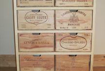 Etagères casiers bouteilles