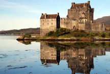 Scottish Highlands / Magnificent mountain scenery slashed by silvery lochs and peppered with brooding castles: perfect road-trip country. http://www.secretearth.com/destinations/48-scottish-highlands