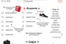 Travel Packing Lists and Tips / Holiday and Travel Packing Lists and Tips