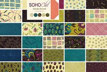 New fabrics / We love the new quilt fabrics - lots of new jelly rolls and charm packs have just arrived