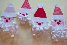幼稚園のクリスマスクラフト
