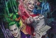 Joker & holly quin