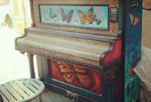 Pianos pintados