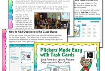 Teaching With Plickers / Ideas and tips for using Plickers in the classroom.