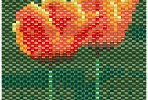 kralen-peyote-bloemen