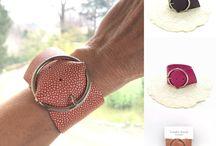 DippiBijoux / Leather handmade jewelry