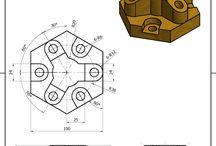 Modelos para desenho no SolidWorks