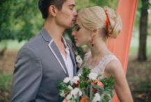 Наша съемка на страницах the bride
