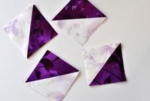 Tutorials for pre cut fabric eg HST Flying geese