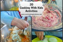 Kids in the Kitchen / Fun ways to cook WITH your kids, not just FOR your kids!