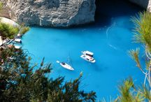 Greece Cover in Blue .... / Greece | Greek Islands | all cover with the Blue of sea and the Sky . Kefalonia , Greek Sea , Lefkada , Balos , Elafonnisi , zante , Bay of Navagio , Porto Katsiki , Zakynthos , Gramvousa .