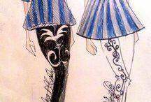"""COLLEZIONE """"Lines In Blue"""""""