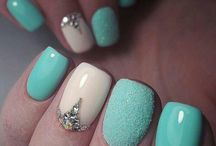 Turquose nails