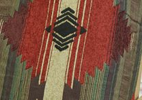 Southwestern Decor / Southwestern prints and shades on slipcovers and home pieces!