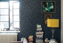 '1940s' Wallpaper Collection by Farrow & Ball