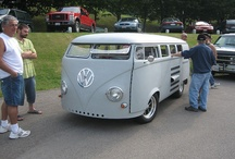 Hot Rod VW Bus