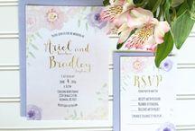 Wedding: Stationery / stationary inspiration