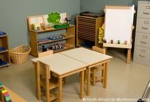 Montessori   Spaces / Montessori inspired spaces