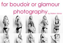 Boudior Photo Inspirations / Photography ideas for shooting boudior photos and poses