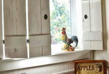 Farmhouse window treatment