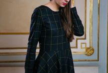 Winter Collection / Timeless handmade dresses.