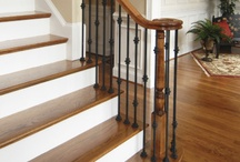 Staircases and Balusters / Images of staircases and balusters that we find appealing. The board also includes staircase remodels done by Metro Atl. Floors in and around the Atlanta area.