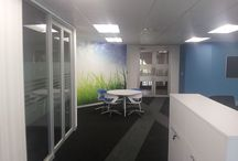 Offices / Drywall partitions and ceilings for Offices