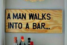 Man Cave & Beer Stuff / Man Cave Inspiration & Craft Beer Stuff