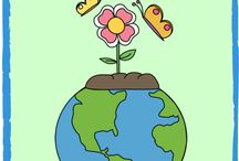 Save the Earth! / Earth Day- April / by Rebecca Roach