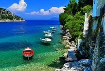 Ithaca island / Green and blue... the colours of Ithaca, a stunning island of Greece