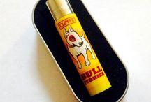 Cigarette lighters.