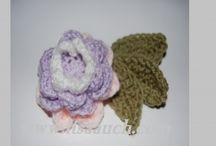 Crochet - Flowers, Leaves, Bugs, etc.