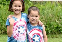 Tie dye ideas for youth camp