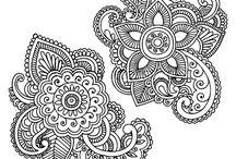 Henna flowers / inspirational