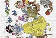 Disney - cross stitch