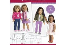 American Girl - 18 Inch Dolls Clothes Patterns