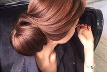 fryzury czesane