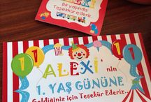 Alexi 1st Birthday