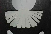 Holubica z papiera