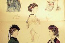Magasin des Demoiselles  -  Tournüren ab 1869 / Modekupfer ab 1869